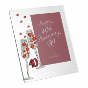 40th Anniversary Frame