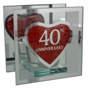 40th Anniversary T-Lite Holder