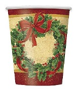 Christmas Wreath Cups