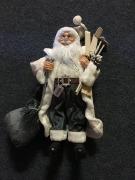 60cm Grey Standing Santa