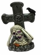 LED Skull & Cross Decoration