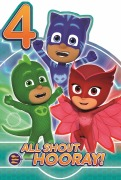 4 Today PJ Masks Card
