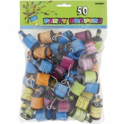 50 Party Poppers