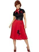 50s Poodle Dress