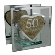 50th Anniversary T-Lite Holder