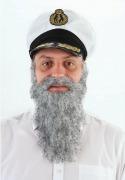Grey Beard & Moustache