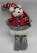 55.5cm Christmas Bear