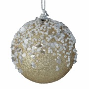 Gold Frost Bauble