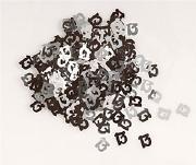 13th Black Confetti
