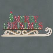 Rustic Christmas Sleigh