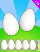 5 Pack Of Foam Eggs