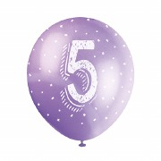 5th Birthday Balloons