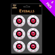 6Pk Of Eye Balls