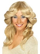 70s Flick Blonde Wig