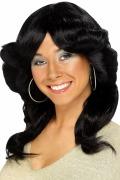 70s Flick Black Wig