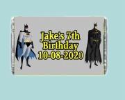 7Pk Batman Chocolate Bars