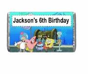 7Pk Spongebob Chocolate Bars