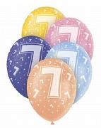 7th Birthday Balloons