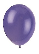 Midnight Purple Balloons