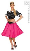 Rock and Roll Pink Skirt