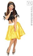 Rock and Roll Yellow Skirt
