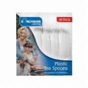 80Pk Plastic Tea Spoons