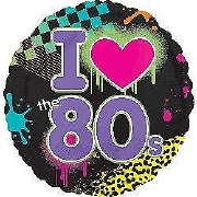 80s Party Balloon