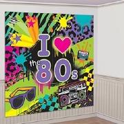 80s Party Scene Setter