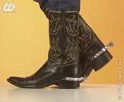 Silver Cowboy Spurs
