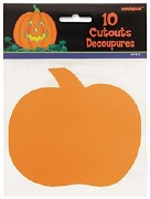 Mini Pumpkin Cutouts