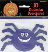 Mini Spider Cutouts