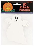 Mini Ghost Cutouts