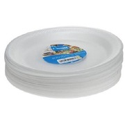 8 Polystyrene Plates