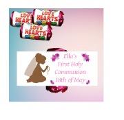 9 1st Communion Girl Loveheart