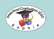 8Pk Preschool Grad Labels