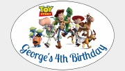 8Pk Toy Story Bag Labels