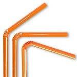 Orange Straws