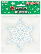 Snowflake Cutout Decorations