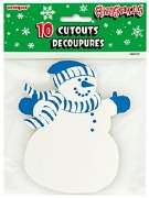 Snowman Cutout Decorations