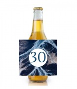 6PK Blue Age Beer Labels