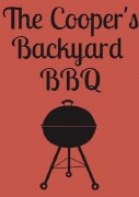 4PK BBQ Wine Labels