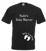 Baby Shower Black T-Shirt