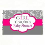 7PK Baby Shower Girl Chocolate