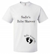 Baby Shower White T-Shirt