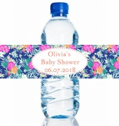 4PK Baby Shower Bottle Labels