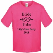 Bride Tribe Pink T-Shirt
