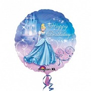 Cinderella Birthday Balloon