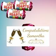 9PK Congratulations Lovehearts