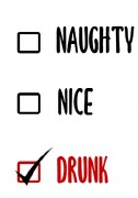 4Pk Naughty or Nice Labels