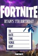 Personalised Fortnite Invites